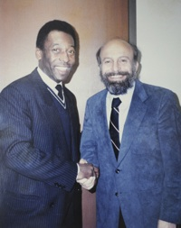 Dr. Silber and Pele