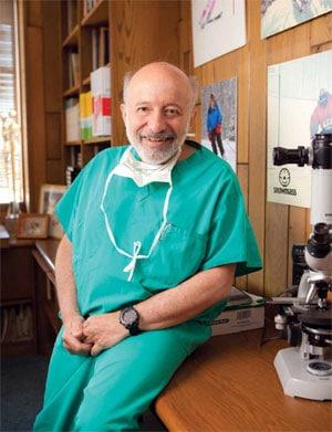 Dr. Sherman Silber, Director of The Infertilty Center of St. Louis at St. Luke's Hospital.