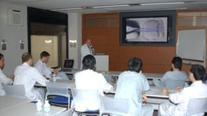 Dr. Silber teaches the proper way to do micro-TESE for azoospermic men in Japan.