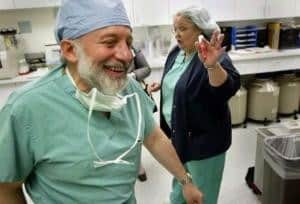 Dr. Sherman Silber carried out the transplant operation