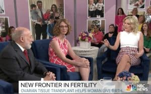 Dr. Silber Discusses Fertility on Today Show with Megyn Kelly
